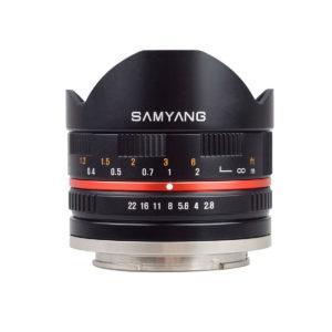 Samyang 8mm f/2.8 (MUSTA) – Canon M