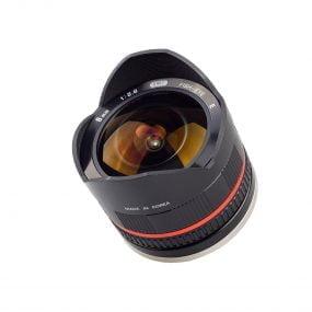 Samyang 8mm f/2.8 (MUSTA) – Fuji X