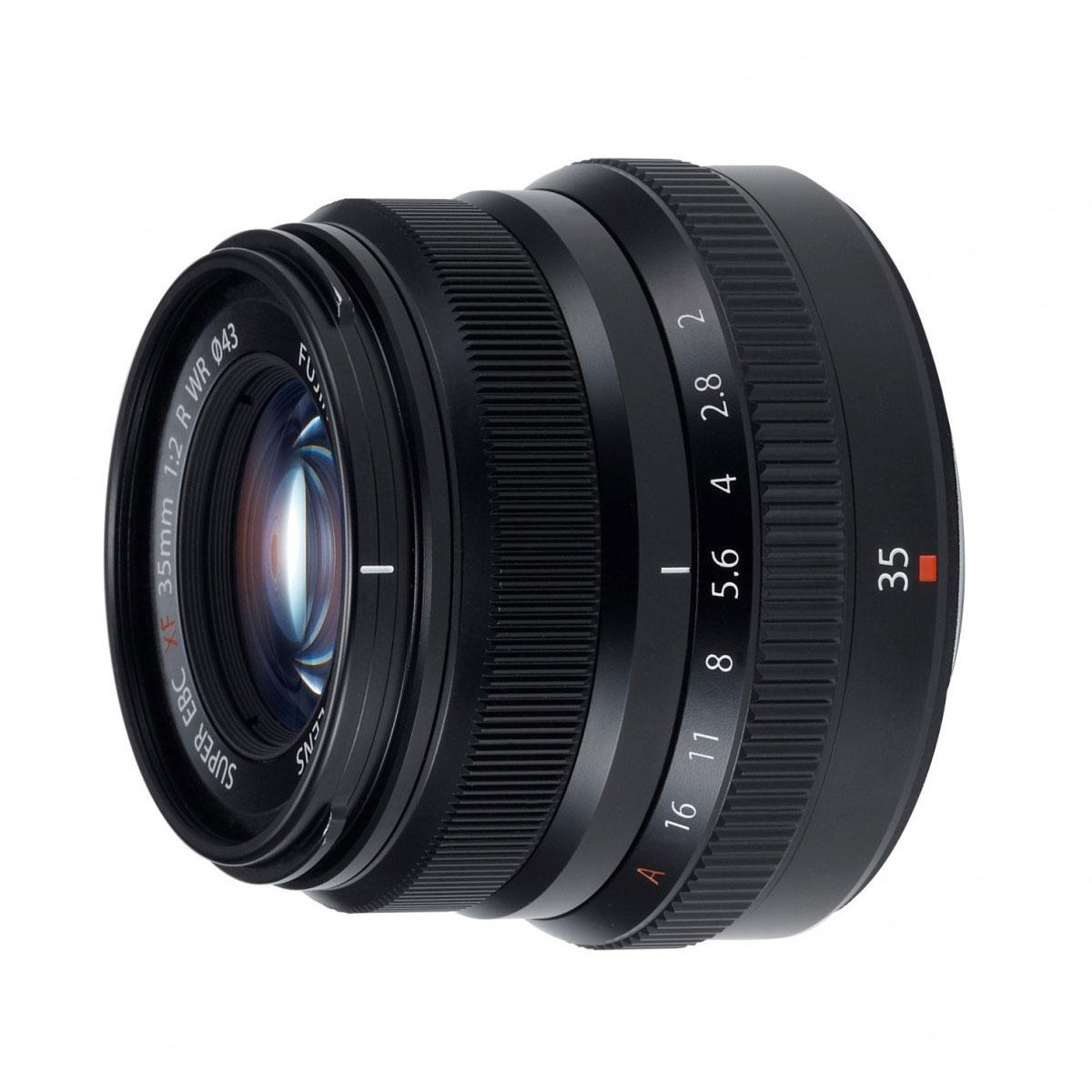 Fujinon XF 35mm / f2,0 WR – X-mount Black