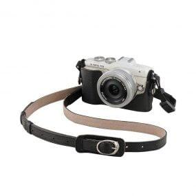 Olympus CS-45B nahkainen kamerakotelo – musta