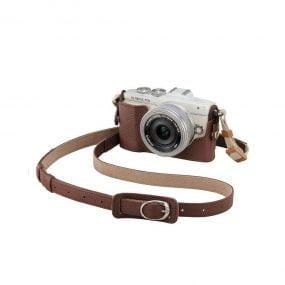 Olympus CS-45B nahkainen kamerakotelo – ruskea