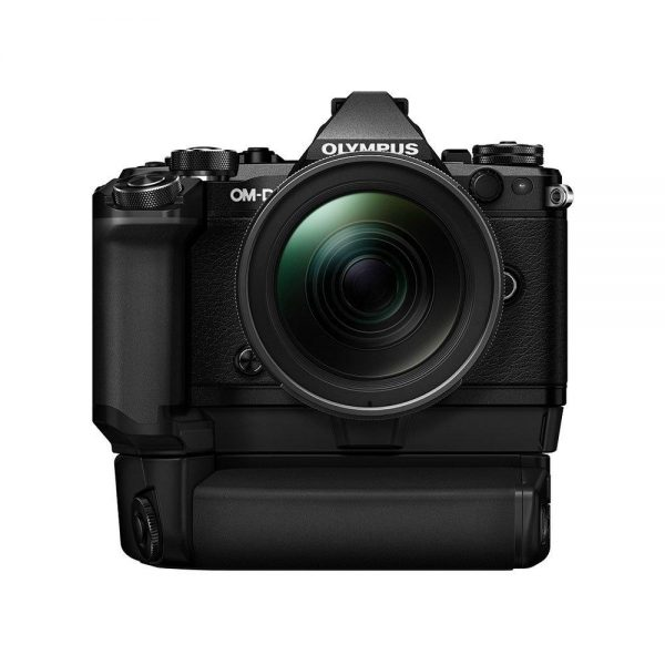 Olympus OM-D E-M5 Mark II Power kit + 12-40mm f/2.8 Pro - Musta
