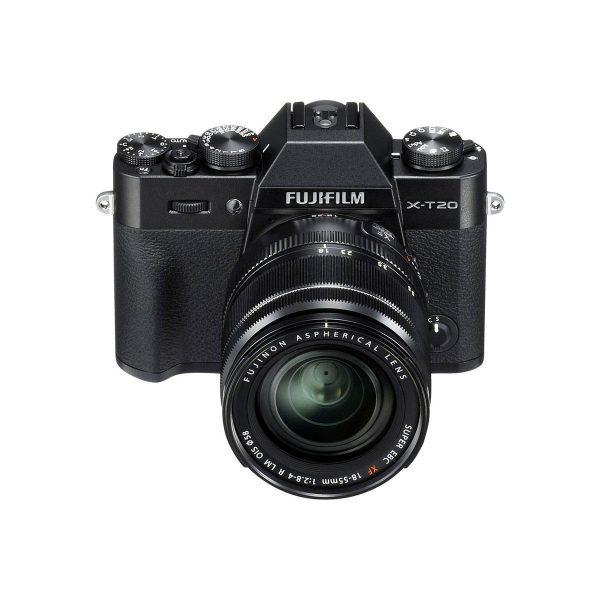 Fujifilm X-T20 Musta + Fujinon 18-55mm f/2.8-4 OIS - Fujifilm X-T2