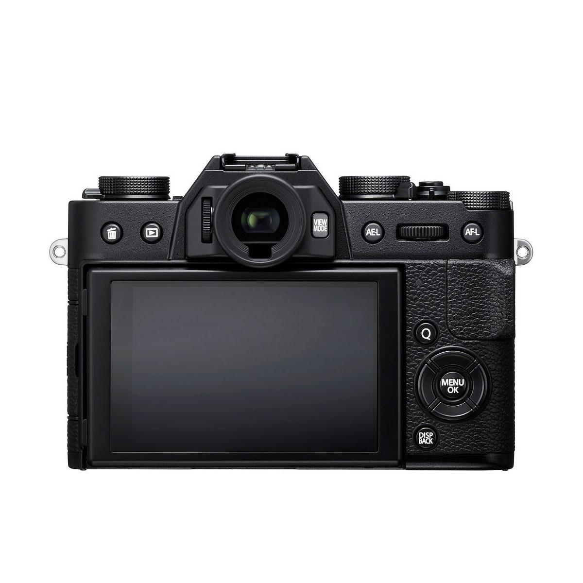 Fujifilm X-T20 + 16-50 F3.5 - F5.6 OIS II + 50-230 F4.5 - F6.7 OIS II musta