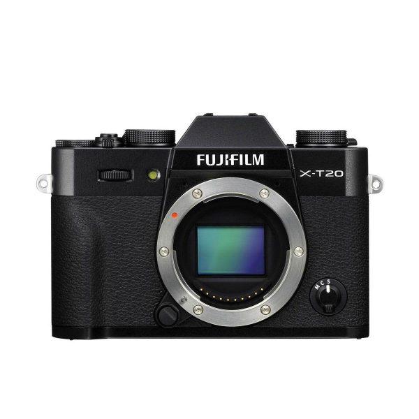 Fujifilm X-T20 musta