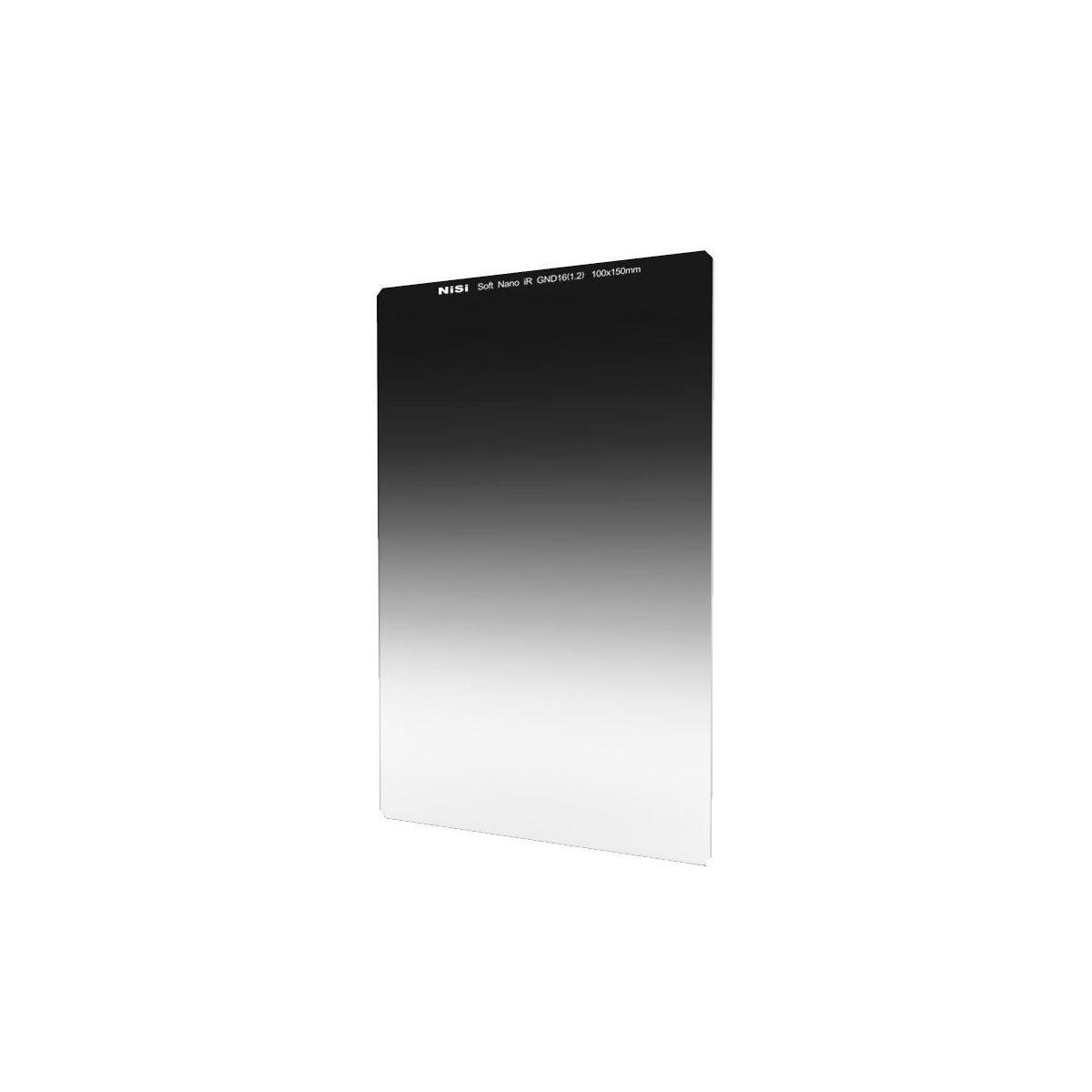 NiSi 100x150mm GND2 0.3 Squarefilter Nano IR GND soft – pehmeä puoliharmaasuodin