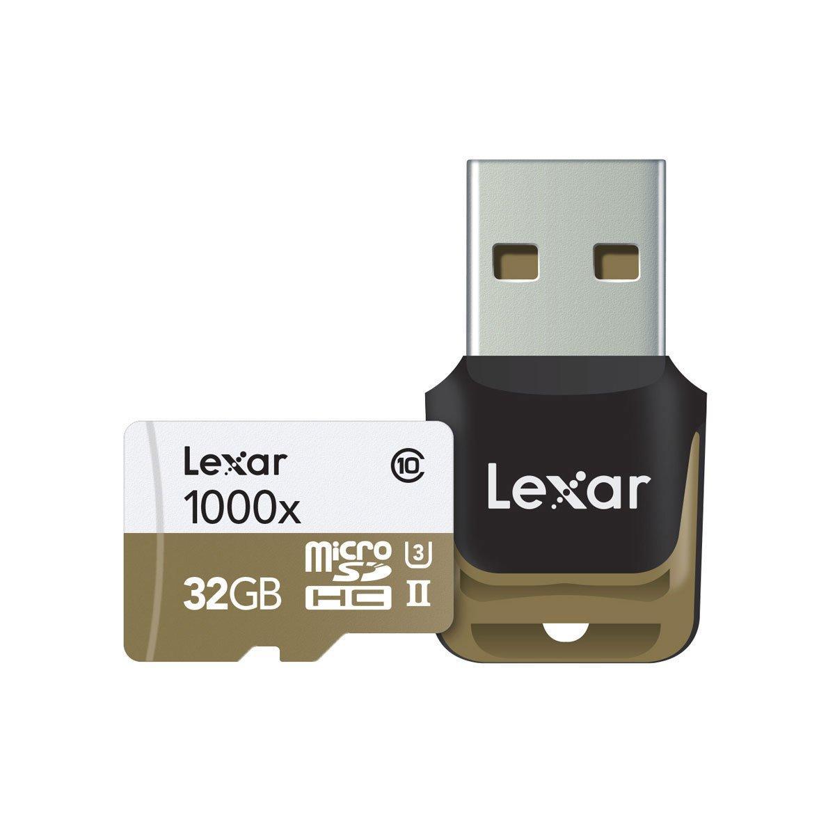Lexar High-Performance MSDHC UHS-II 1000X 32GB