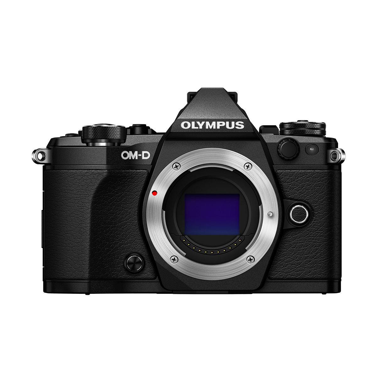 Olympus OM-D E-M5 MK II runko – Musta