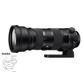 Sigma 150-600mm f/5-6.3 DG OS HSM S – Canon EF / EF-S