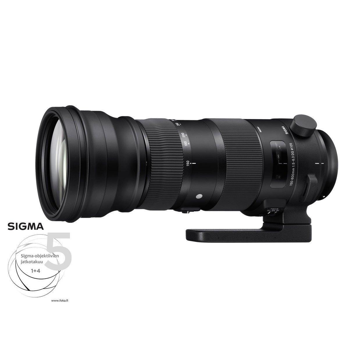 Sigma 150-600mm f/5-6.3 DG OS HSM S – Sony A
