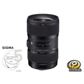 Sigma 18-35mm f/1.8 Art DC HSM – Canon EF / EF-S