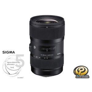 Sigma 18-35mm f/1.8 Art DC HSM – Nikon F