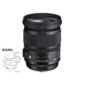 Sigma 24-105mm f/4 DG OS HSM – Canon EF / EF-S