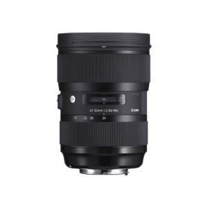 Sigma 24-35mm f/2 Art DG HSM – Canon Ef/EF-S