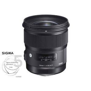 Sigma 24mm f/1.4 Art DG HSM – Canon Ef/EF-S