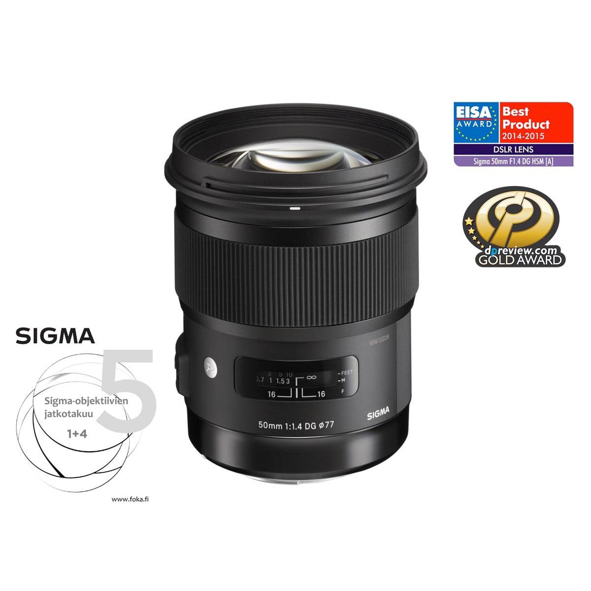 Sigma 50mm F1.4 ART – EOS