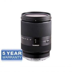Tamron 18-200mm f/3.5-6.3 Di III VC – Sony E – musta