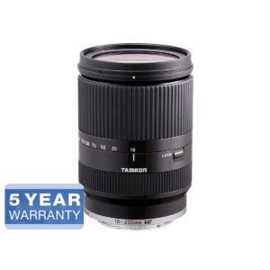 Tamron 18-200mm f/3.5-6.3 Di III VC - Sony E - musta