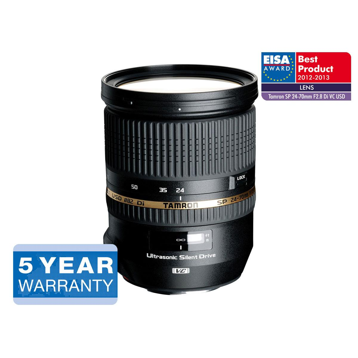 Tamron SP 24-70mm F2.8 Di VC USD – Canon