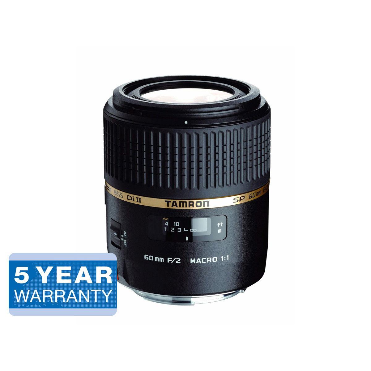Tamron SP AF 60mm F2.0 Di II LD [IF] Macro 1:1 – Nikon