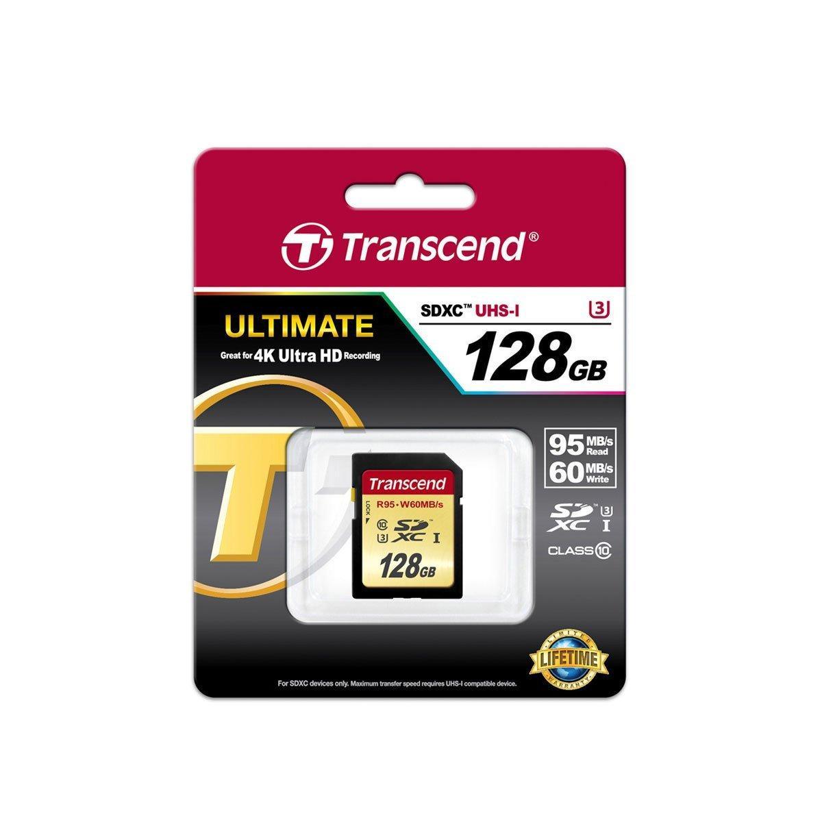 Transcend SDXC UHS-I U3 128GB