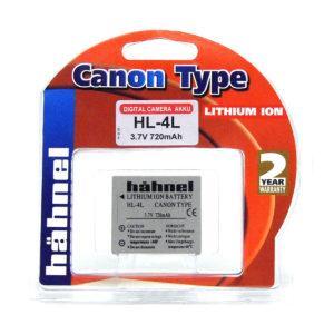 Hähnel akku Canon HL-4L