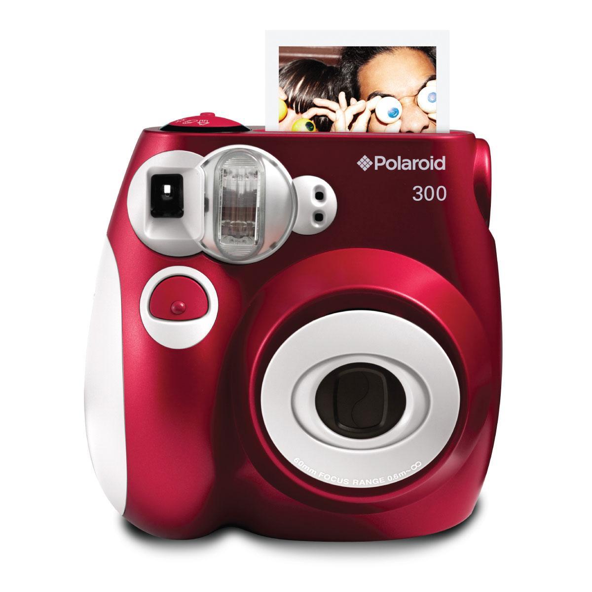 Polaroid Pic-300 Punainen