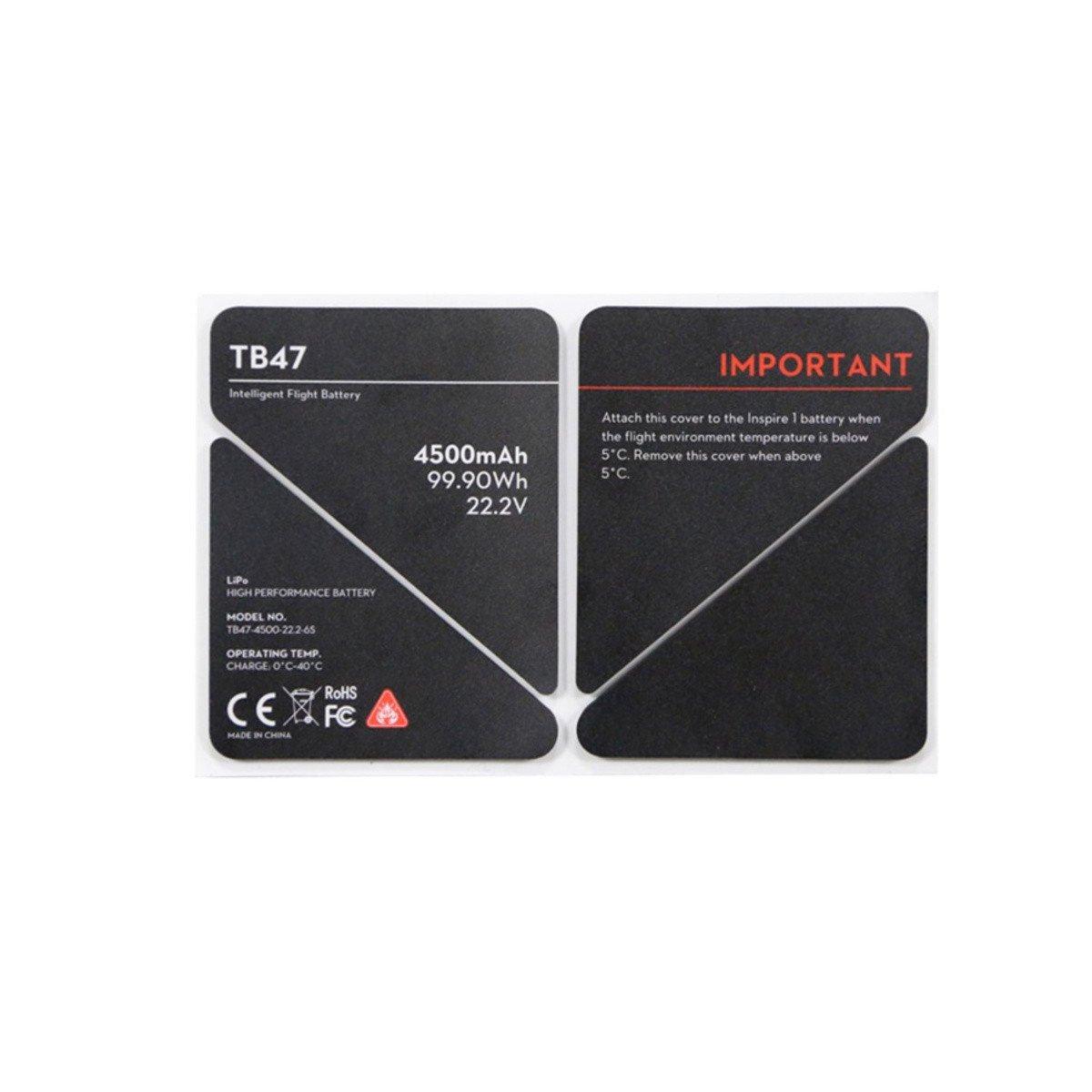 Inspire 1 – TB47 Battery Insulation Sticker