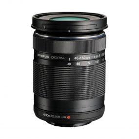 Olympus M.Zuiko Digital ED 40-150mm f/4-5.6 R Musta