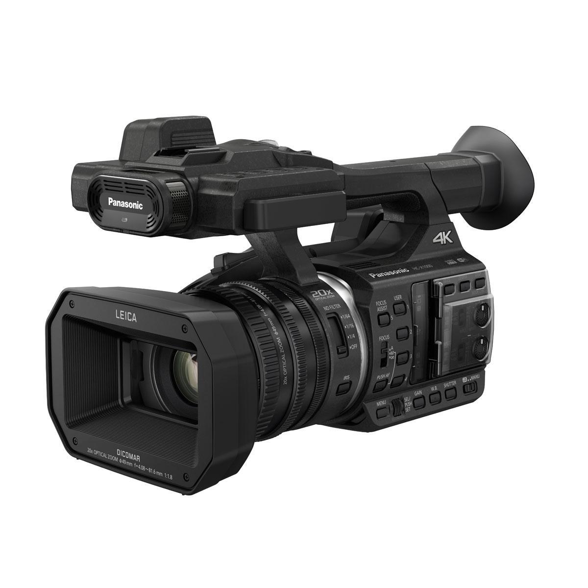 Panasonic HC-X1000 – Kevyt 4K ammattivideokamera
