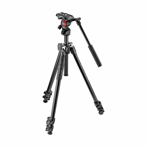 Manfrotto Jalustakit Video 290 Light + 400AH