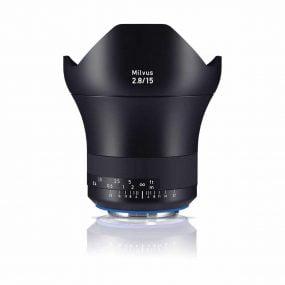 Zeiss Milvus 15mm f/2.8 Distagon T* ZE – Canon EF