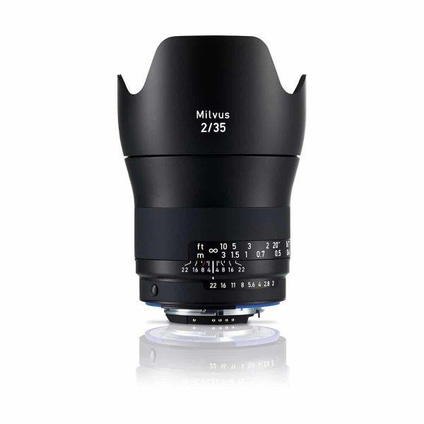 Zeiss Milvus 35mm f/2 Distagon T* ZF - Nikon F