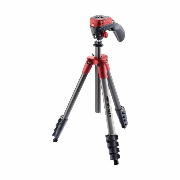 Manfrotto Jalustakitti Compact Action Punainen