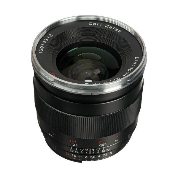 Zeiss 25mm f/2 Distagon T* - Nikon F