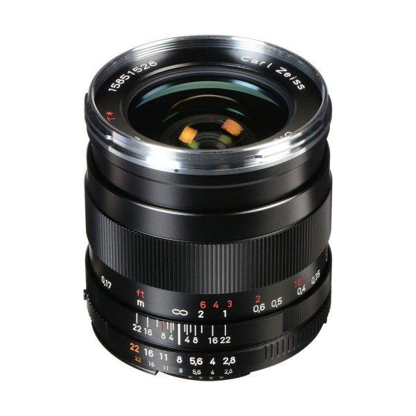 Zeiss 25mm f/2.8 Distagon T* - Nikon F