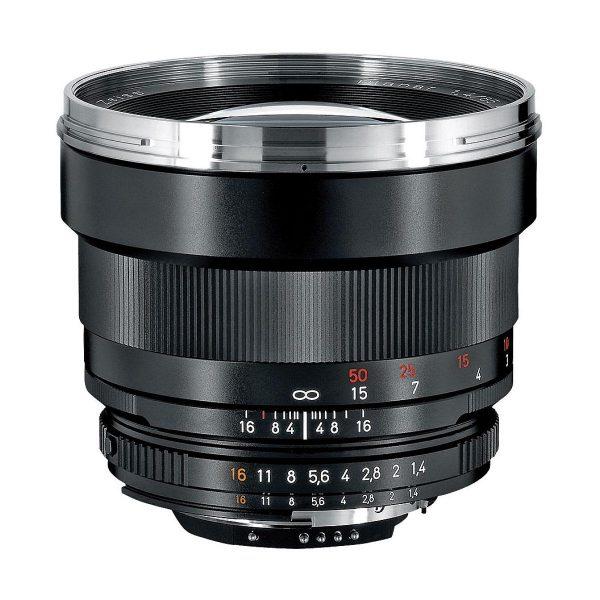 Zeiss 85mm f/1.4 Planar T* - Nikon F