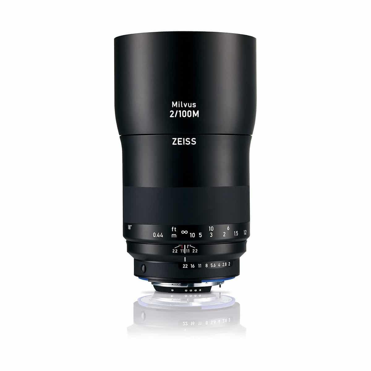 Zeiss Milvus 100mm Makro-Planar f/2M ZF – Nikon F