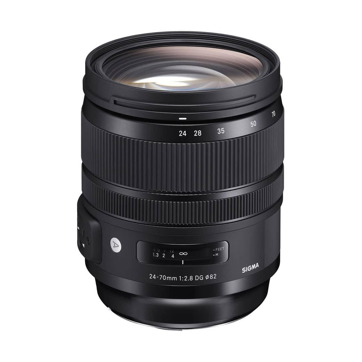 SIGMA 24-70mm F2.8 DG OS HSM Art – Canon