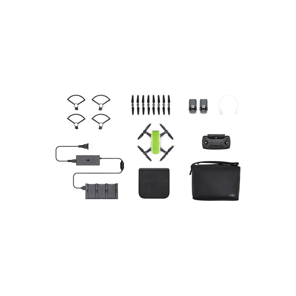 DJI Spark Meadow Green Flymore combo – minikopteri