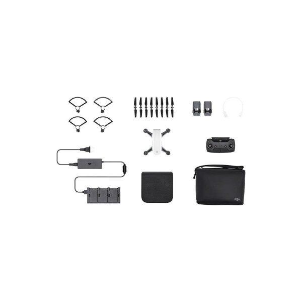 DJI Spark Alpine White Flymore combo - minikopteri