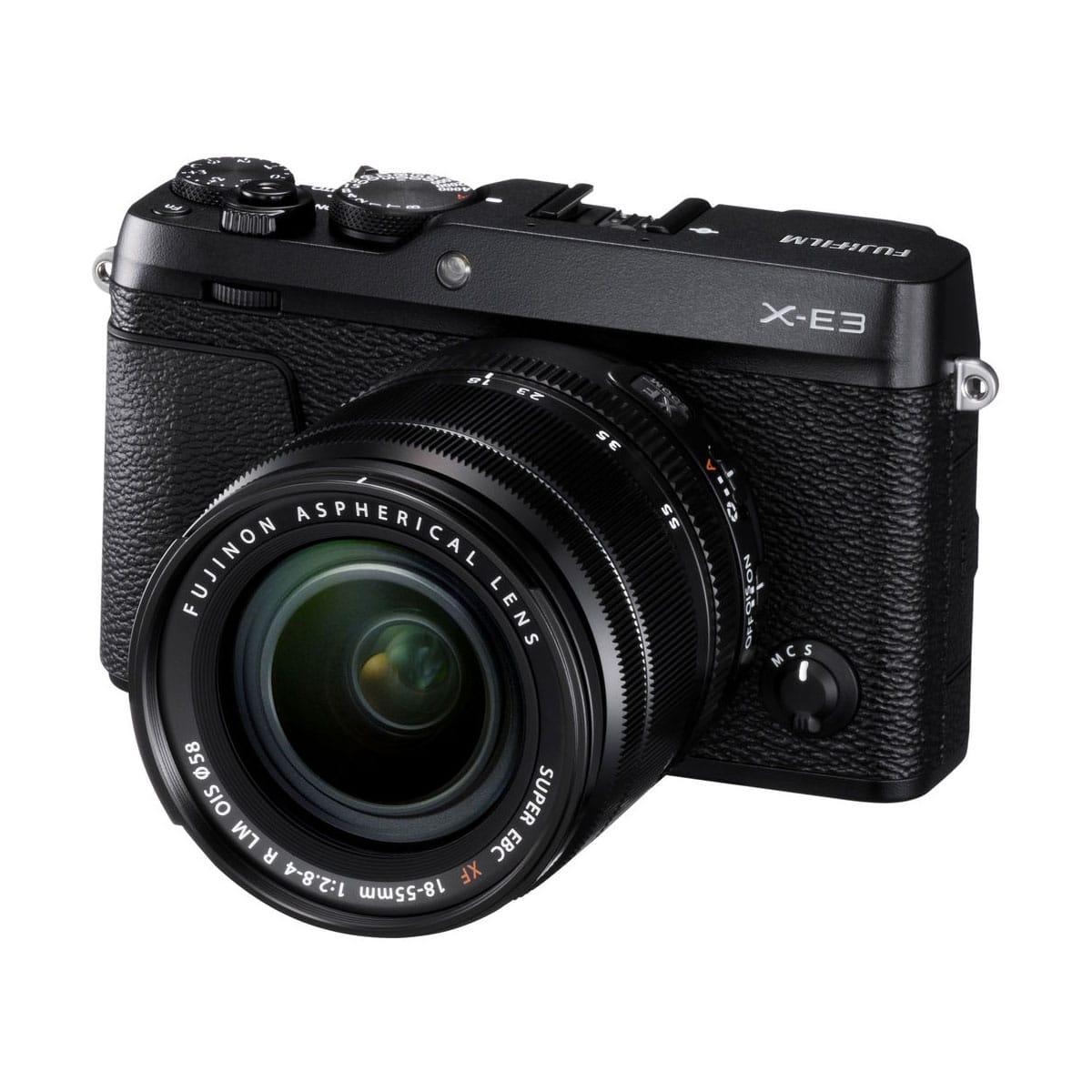 Fujifilm X-E3 + 18-55 F2.8-F4 musta