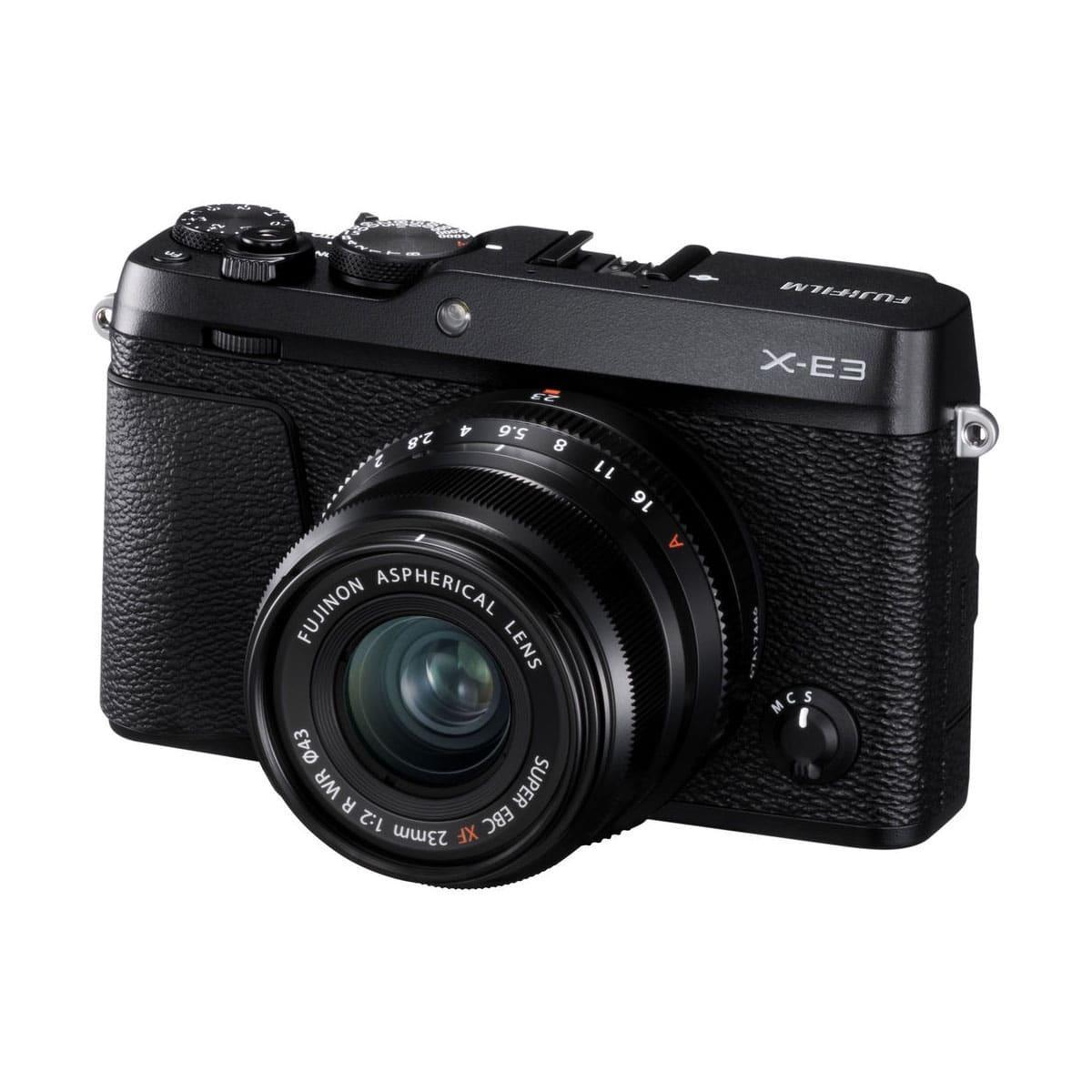 Fujifilm X-E3 + 23mm F2.0 musta