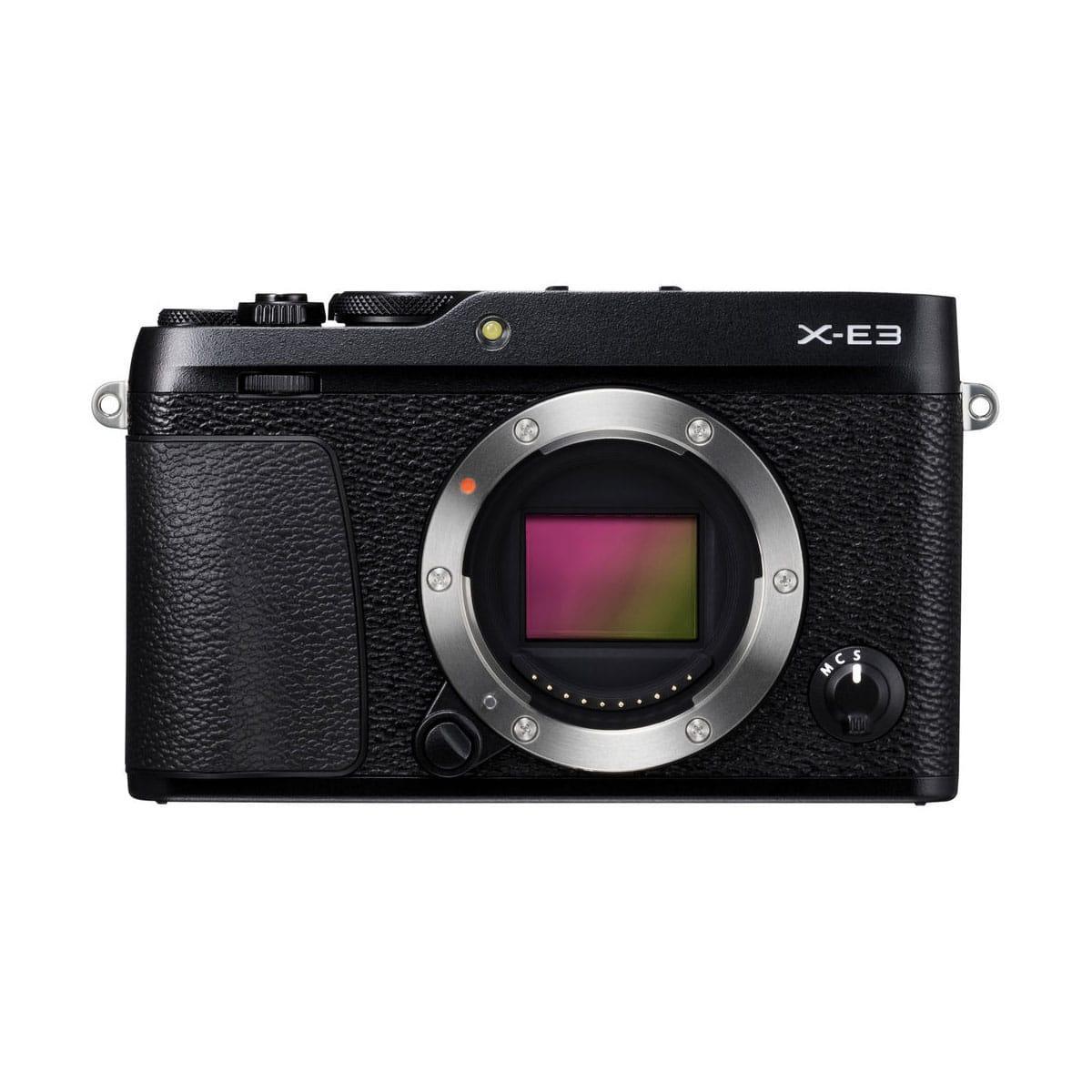 Fujifilm X-E3 runko – musta
