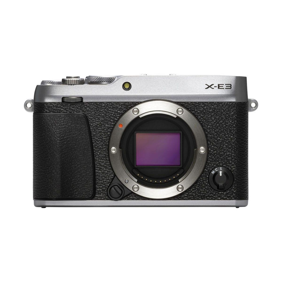 Fujifilm X-E3 runko – hopea