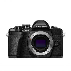 Olympus E-M10 Mark III runko – musta