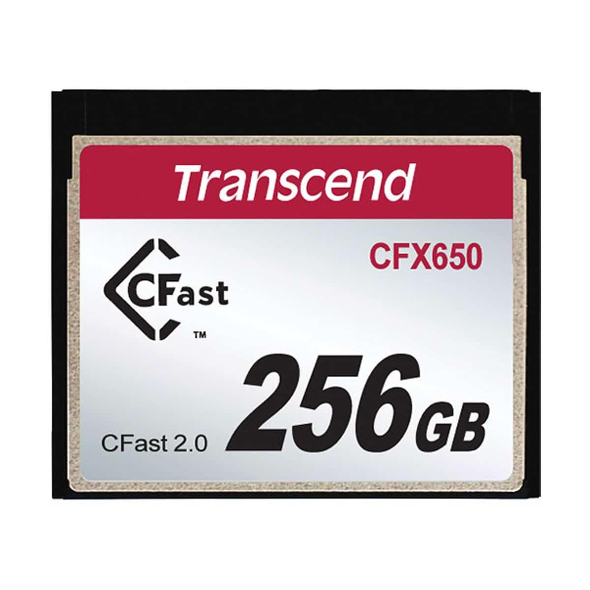 Transcend CFast 2.0 CFX650 256gb