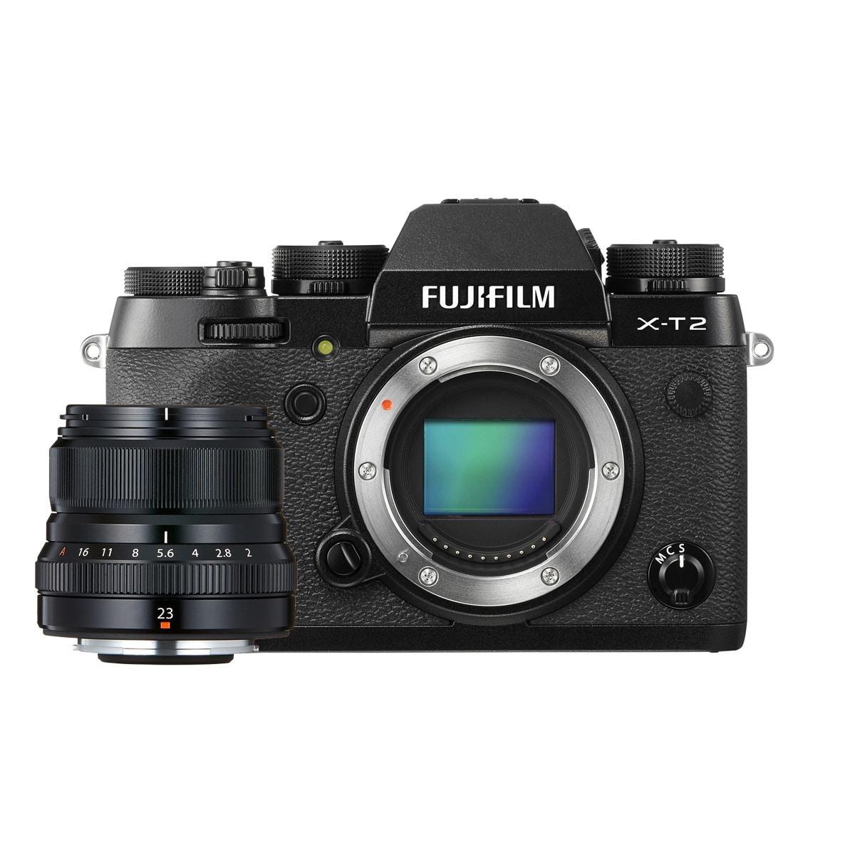 Fujifilm X-T2 + Fujinon 23mm F2 WR