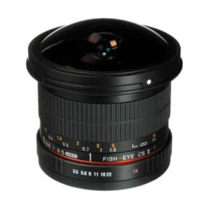 Samyang 8mm f/3.5 UMC FISH-EYE CS II Canon