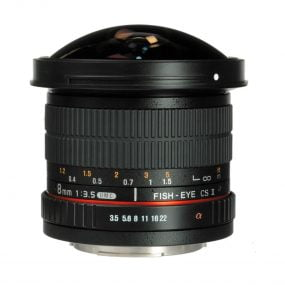 Samyang 8mm f/3.5 UMC FISH-EYE CS II Canon